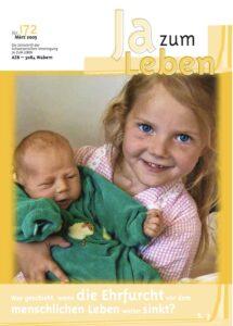 Titelbild Zeitschrift Ja zum Leben März 2005