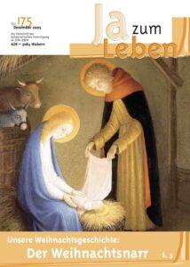 Titelbild Zeitschrift Ja zum Leben Dezember 2005