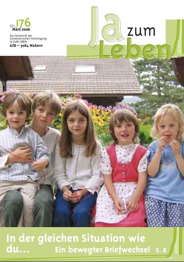 Titelbild Zeitschrift Ja zum Leben März 2006