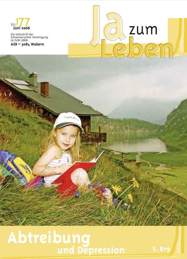 Titelbild Zeitschrift Ja zum Leben Juni 2006