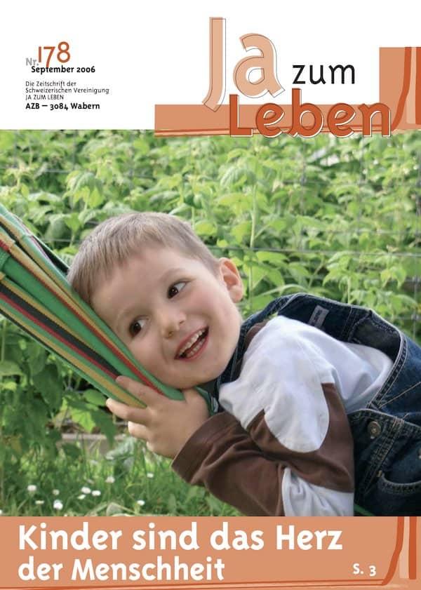 Titelbild Zeitschrift Ja zum Leben September 2006