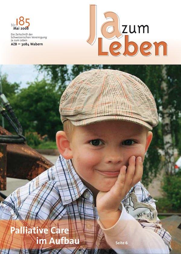 Titelbild Zeitschrift Ja zum Leben Mai 2008