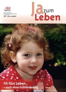 Titelbild Zeitschrift Ja zum Leben März 2010