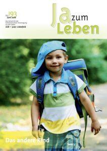 Titelbild Zeitschrift Ja zum Leben Juni 2010