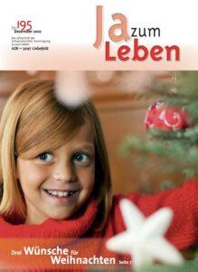 Titelbild Zeitschrift Ja zum Leben Dezember 2010