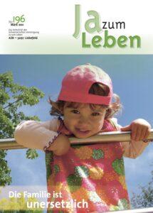 Titelbild Zeitschrift Ja zum Leben März 2011