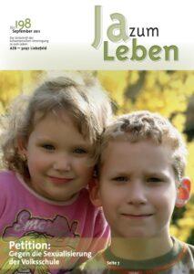 Titelbild Zeitschrift Ja zum Leben September 2011