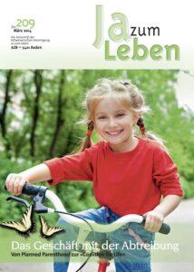 Titelbild Zeitschrift Ja zum Leben März 2014