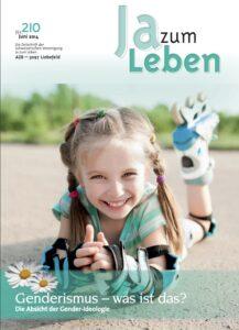 Titelbild Zeitschrift Ja zum Leben Juni 2014