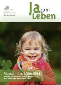 Titelbild Zeitschrift Ja zum Leben September 2014