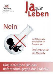 Titelbild Zeitschrift Ja zum Leben Dezember 2015_2