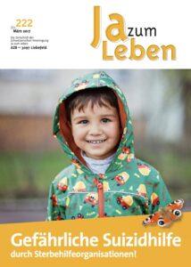 Titelbild Zeitschrift Ja zum Leben März 2017