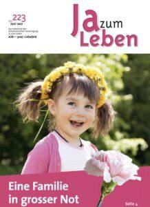 Titelbild Zeitschrift Ja zum Leben Juni 2017