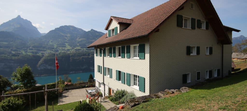 Haus Mutter und Kind in Amden - Ja zum Leben Schweiz