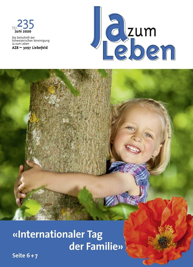 Titelbild Zeitschrift Ja zum Leben Juni 2005