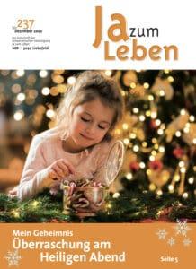 Titelbild Zeitschrift Ja zum Leben Dezember 2020